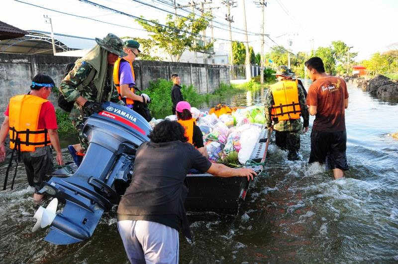 Magna Carta Law Firm Relief Operation for Thailand Flood Victims