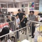 RUAAC Charity Works at Learning Center for Children with Chronic Illness